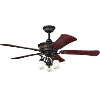 Kichler 300115 Ceiling Fan Ceiling Fan With Remote Fan