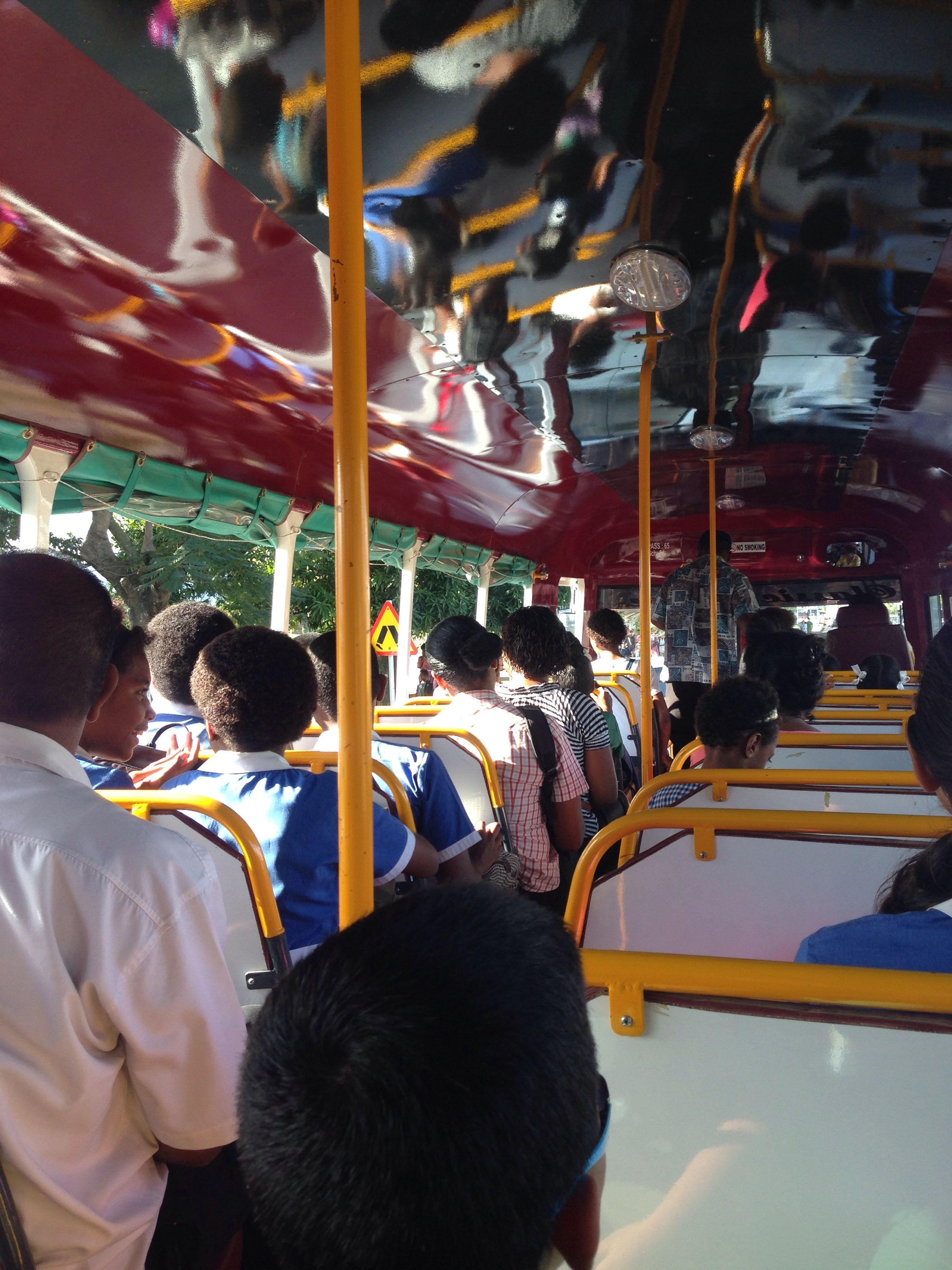A milestone, #traveling by #local #bus from mt view to #namaka by myself! #nadi #fiji #islandlife #nomad