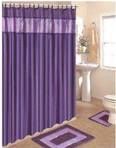 Pin On Purple Shower Curtain