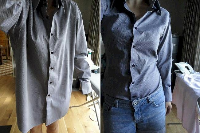 How To Take In A Button Down Shirt | Is Shirt