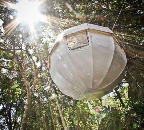 Modern Treehouses Spherical 1