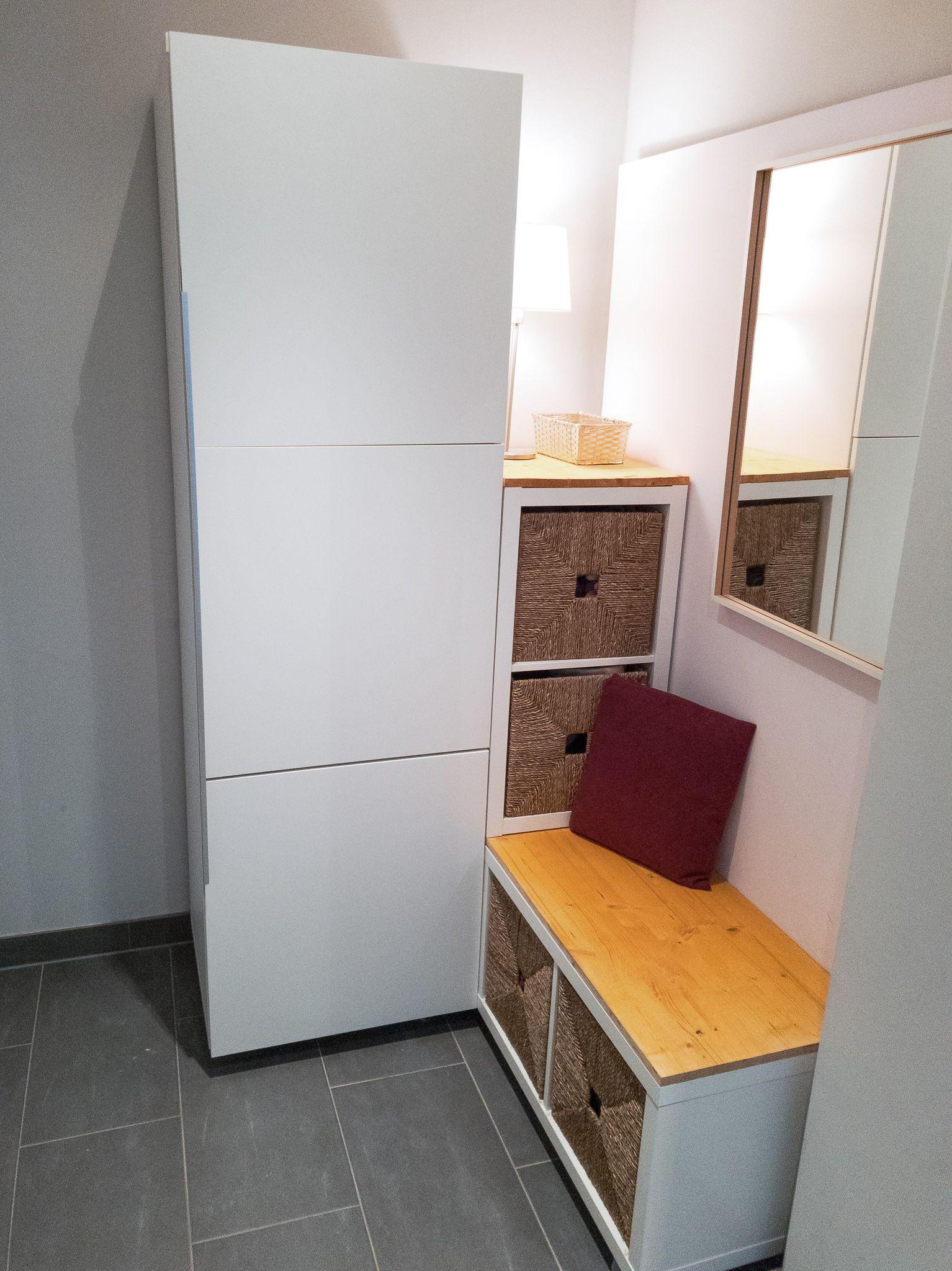 Gaderobe Fur Kleinen Flur Bauen Ikea Hack Kleine Flure