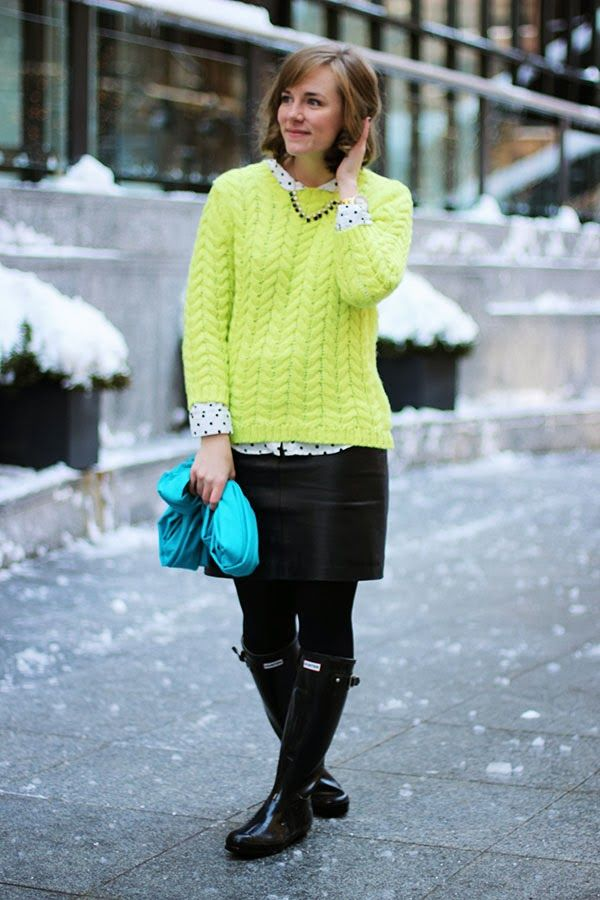 0cc0f7fba91 TheRightShoes  Lime Green in Snow Green Sweater Outfit