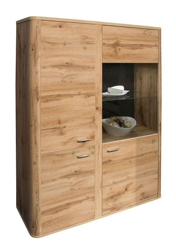 Highboard Wotan Eiche Woody 91-00504 Holz Modern Jetzt bestellen - wohnzimmer eiche modern