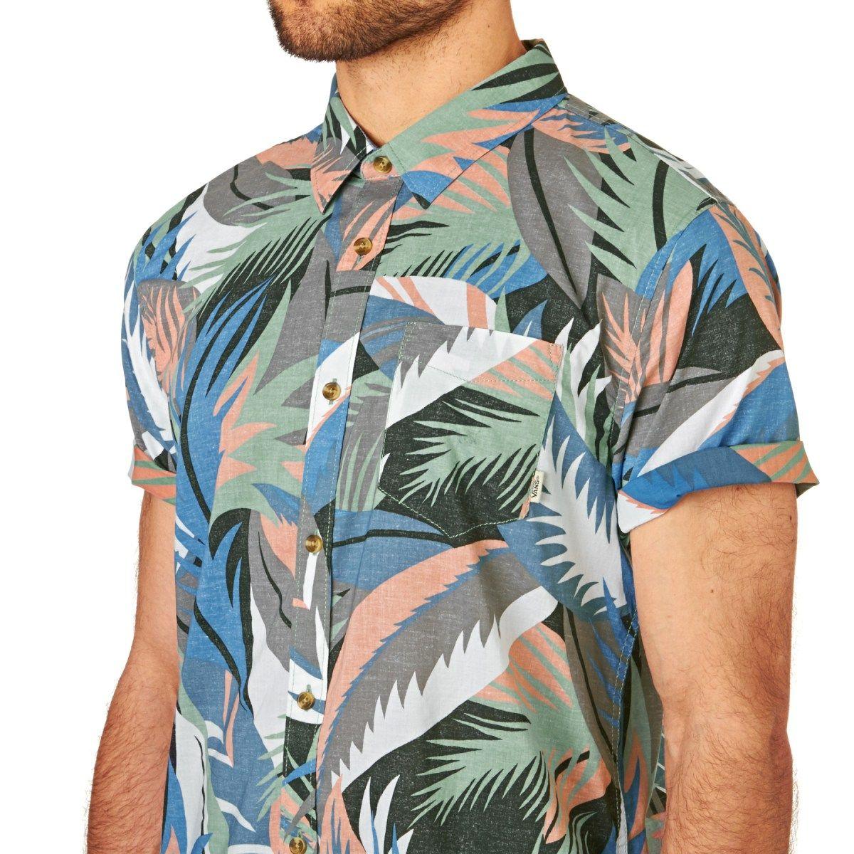 2689c3f651 Men s Vans Shirts - Vans Cosgrove Ii Short Sleeve Shirt - Canton Stanton  Floral