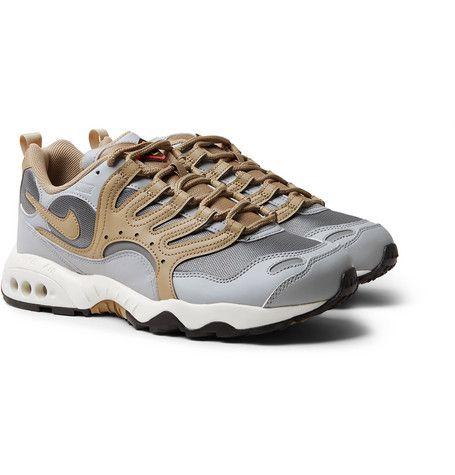 NIKE AIR TERRA HUMARA  18 FAUX LEATHER AND MESH SNEAKERS.  nike  shoes 3d912462e