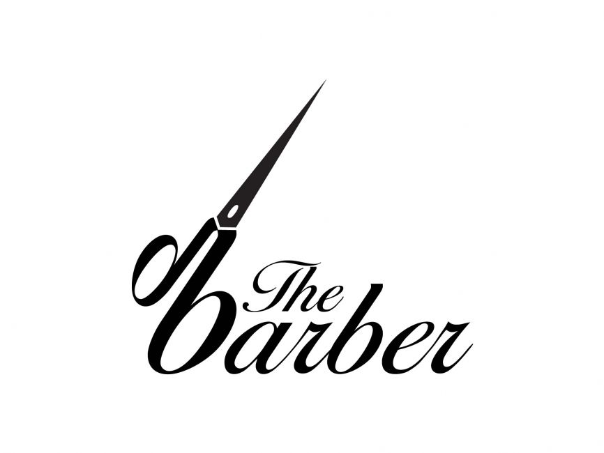 COMMERCIAL LOGOS - Beauty - The Barber Vector Logo ...