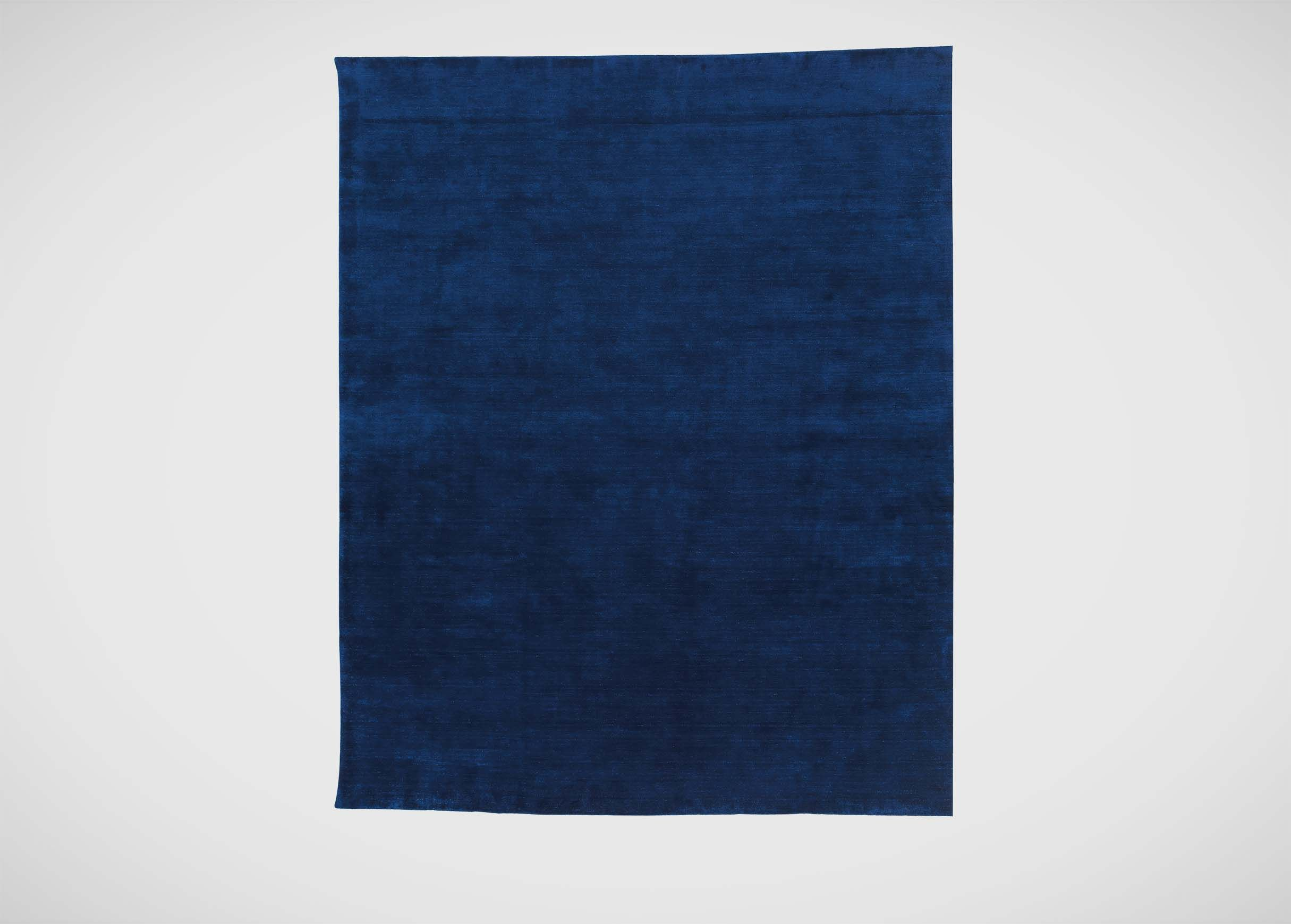 Solid Blue Wool Rug Area Rug Ideas