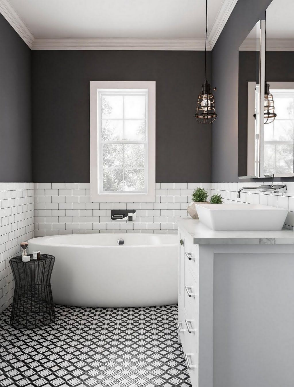 shop our bathroom department to customize your modern dark bathroom rh pinterest com