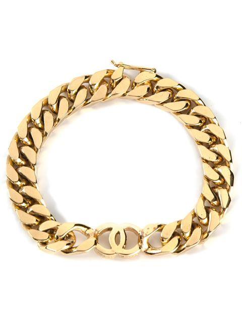 fc475209132b Chanel Vintage Cc Chain Bracelet - Vintage Heirloom - Farfetch.com ...