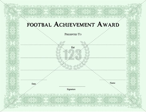 Best Player Football Certificates Templates Download Now - certificates templates