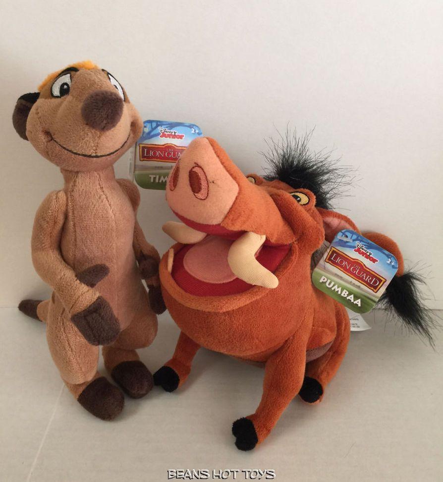 Toys R Us Lion Toys : Disney lion guard toys small plush pumbaa timon nwt