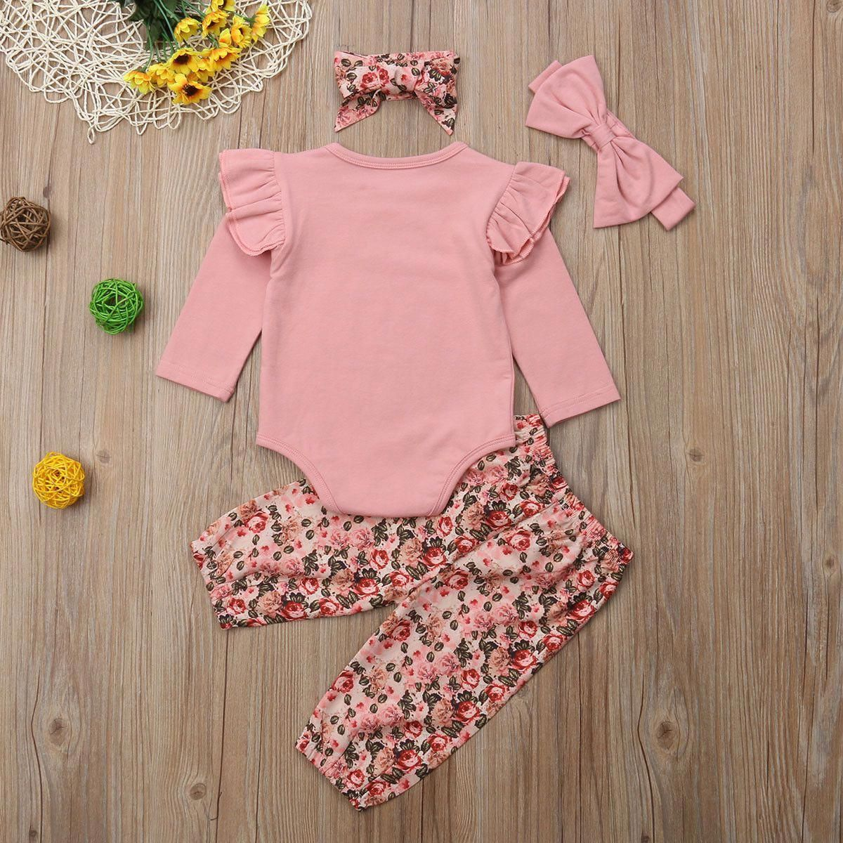 Infant Designer Clothes  Cute Newborn Girl Clothes  Baby Clothes