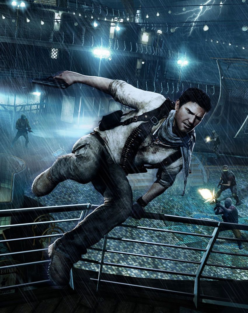 Nathan Drake Uncharted Golden Abyss Uncharted Drake S Fortune