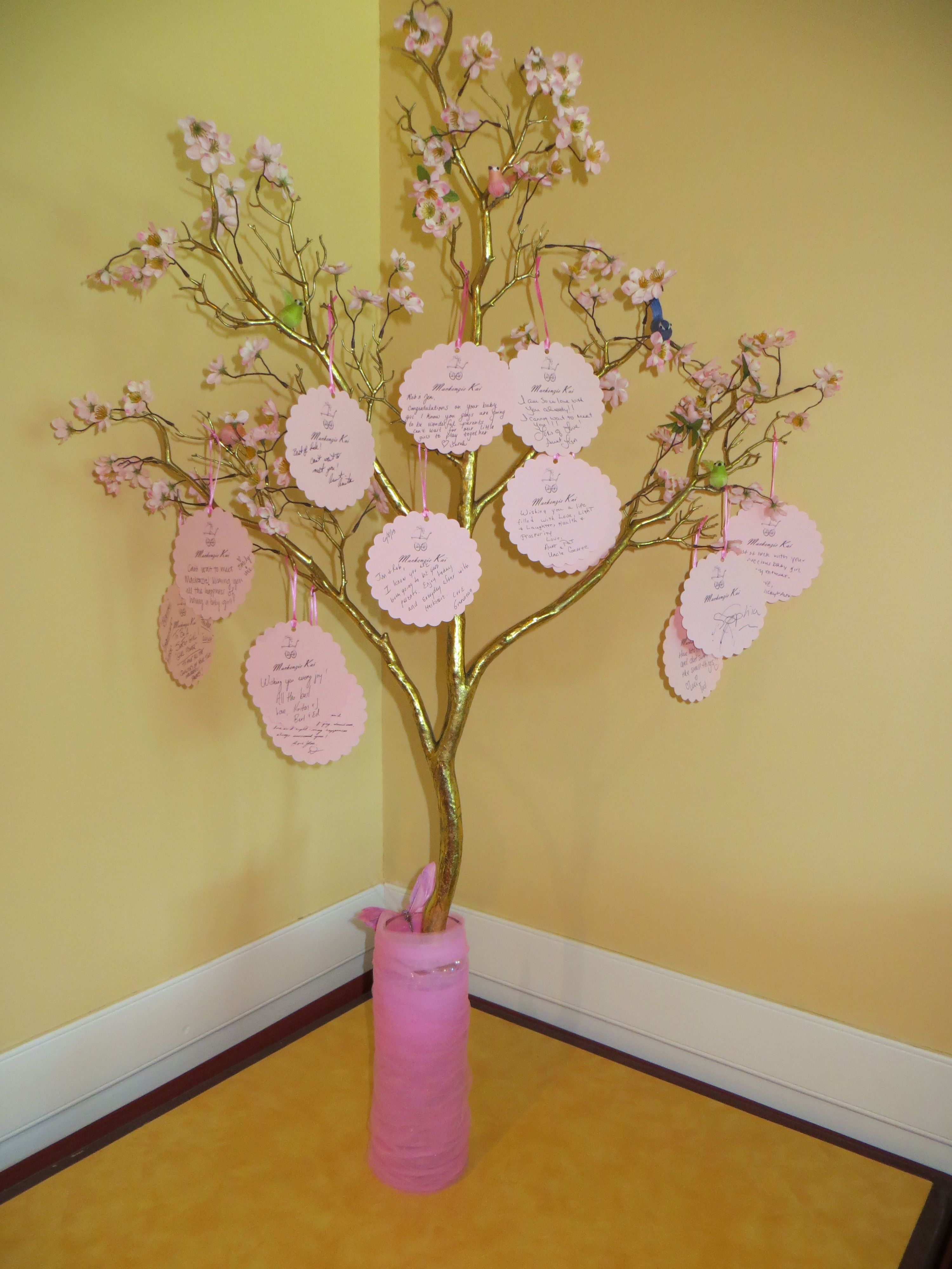 Giving Tree with Wishes complete....