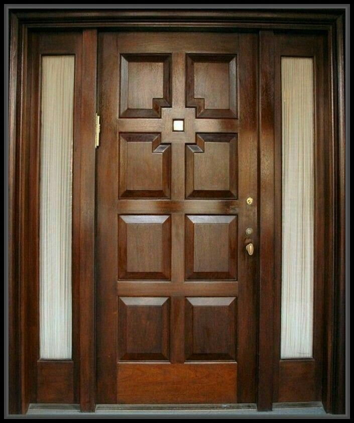 Teak Wooden Door Woodeninteriordoors Wooden Glass Door Front Door Design Wood Door Design