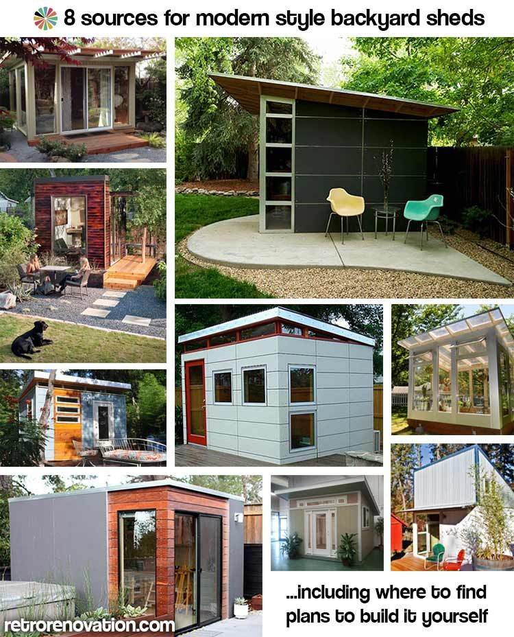 9 sources for midcentury modern sheds prefab diy kits and plans