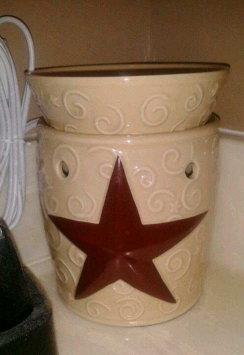 Rustic Star Scentsy Warmer Have This Kelly Jackson Rep Kjackson1970yahoo