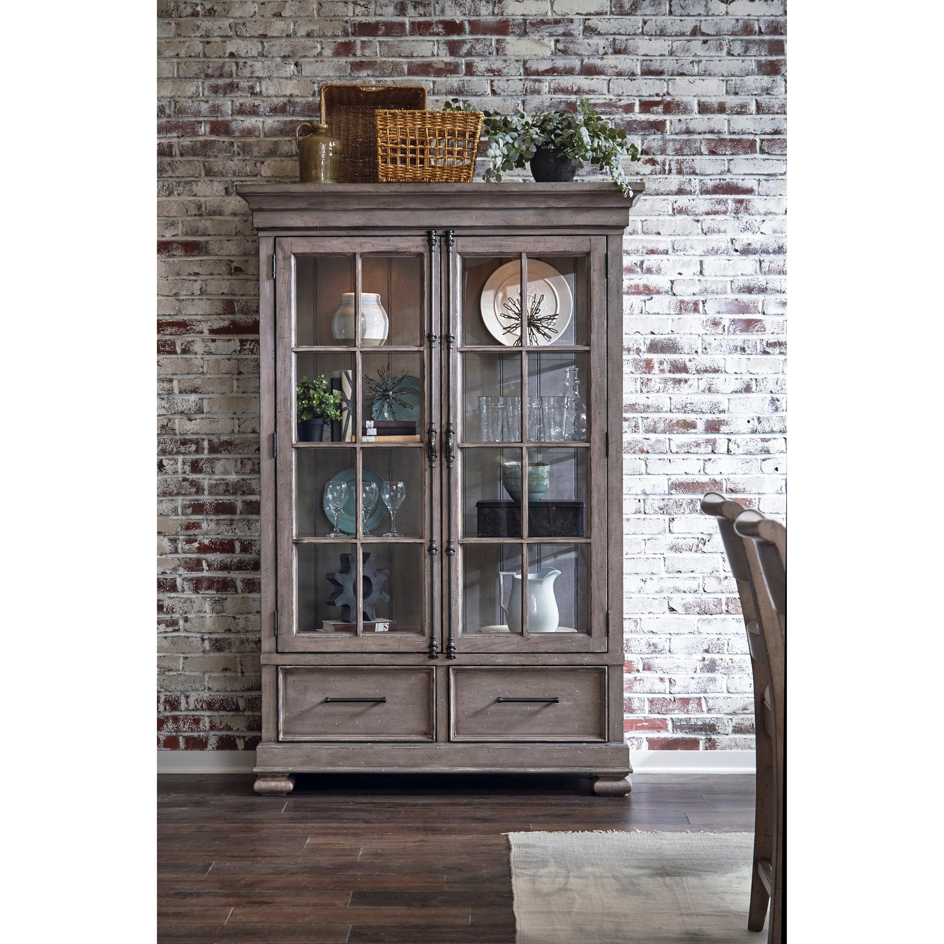 rustic ohio hooker room furniture iteminformation bookcase office home dayton ltwd glam
