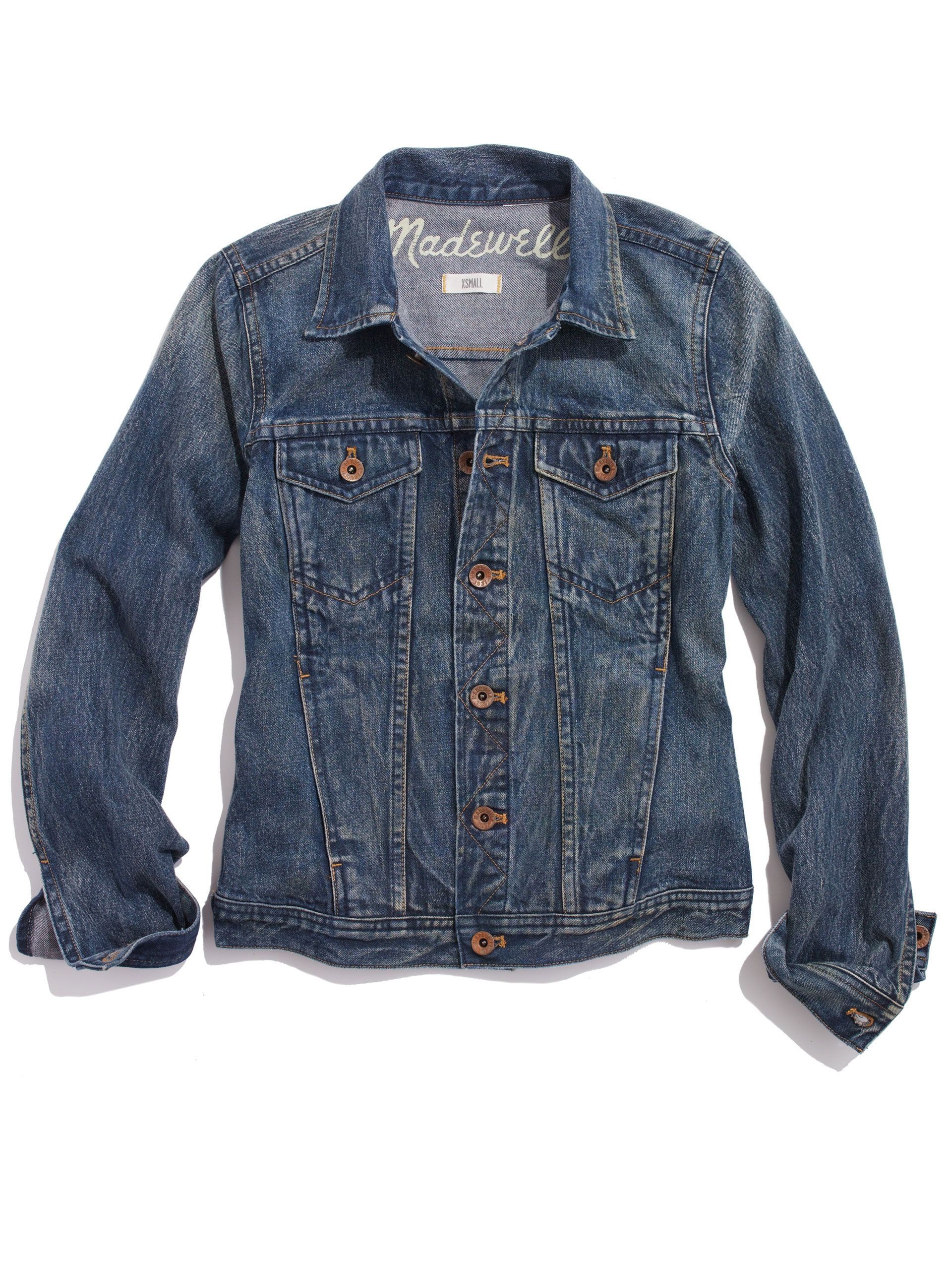 How to Find the Best Jean Jacket for Your Body | Pinterest ...