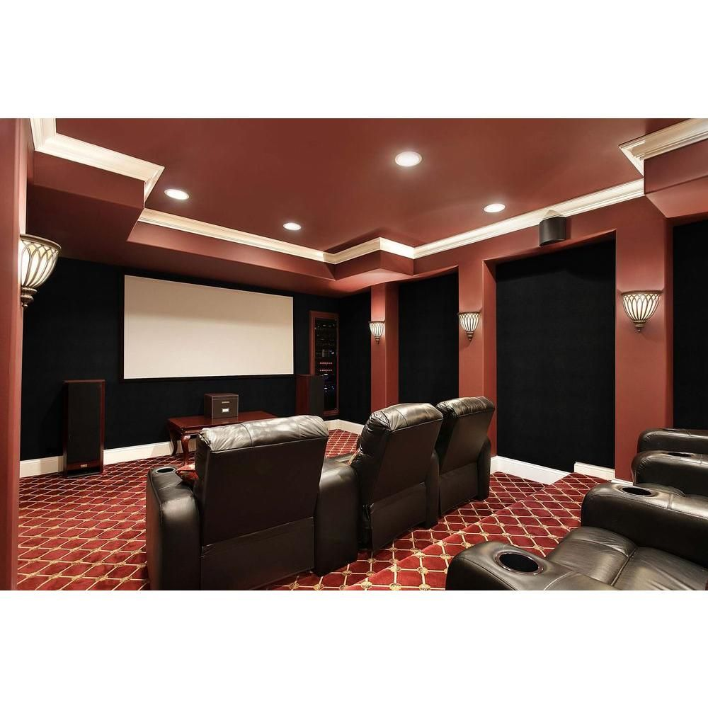 Oyster Acoustical Noise Control Textile Wall Covering And Home Theater Acoustic Sound Proofing 8pd6h06bq0d The Depot