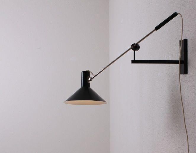 Anvia long arm design af j hoogervorst hollandsk designer 1075 anvia long arm design af j hoogervorst hollandsk designer 1075 og black wall lightslamp aloadofball Image collections