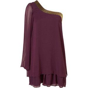 Chiffon Bugle Dress by Rare**