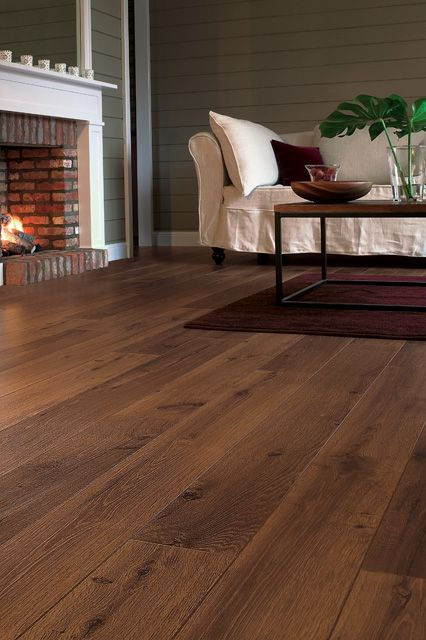 Warm Up Any Room In The Home Or Workplace With The Lush Quickstep Perspective Vintage Oak Dark Var Oak Laminate Flooring Dark Laminate Floors Dark Wooden Floor