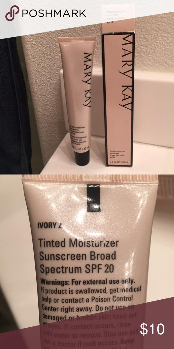 Mary kay tinted moisturizer