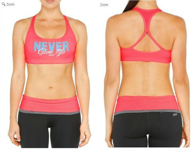 cute sports bra ~ love the motivation words:) | Sports bra ...