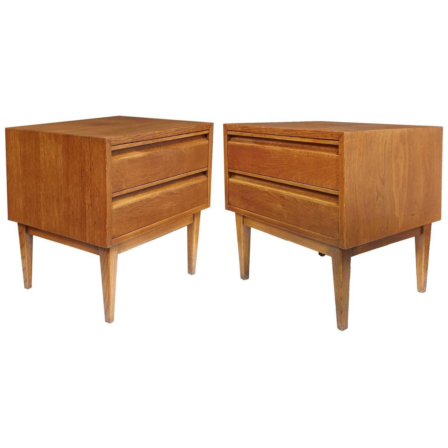 751c22788a5f Pair of American of Martinsville Mid-Century Modern Night Stands or End  Tables