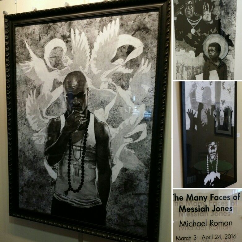Michael Roman: The many faces of Messiah Jones at the Rialto Center for the Arts  #blackartinamericamatters