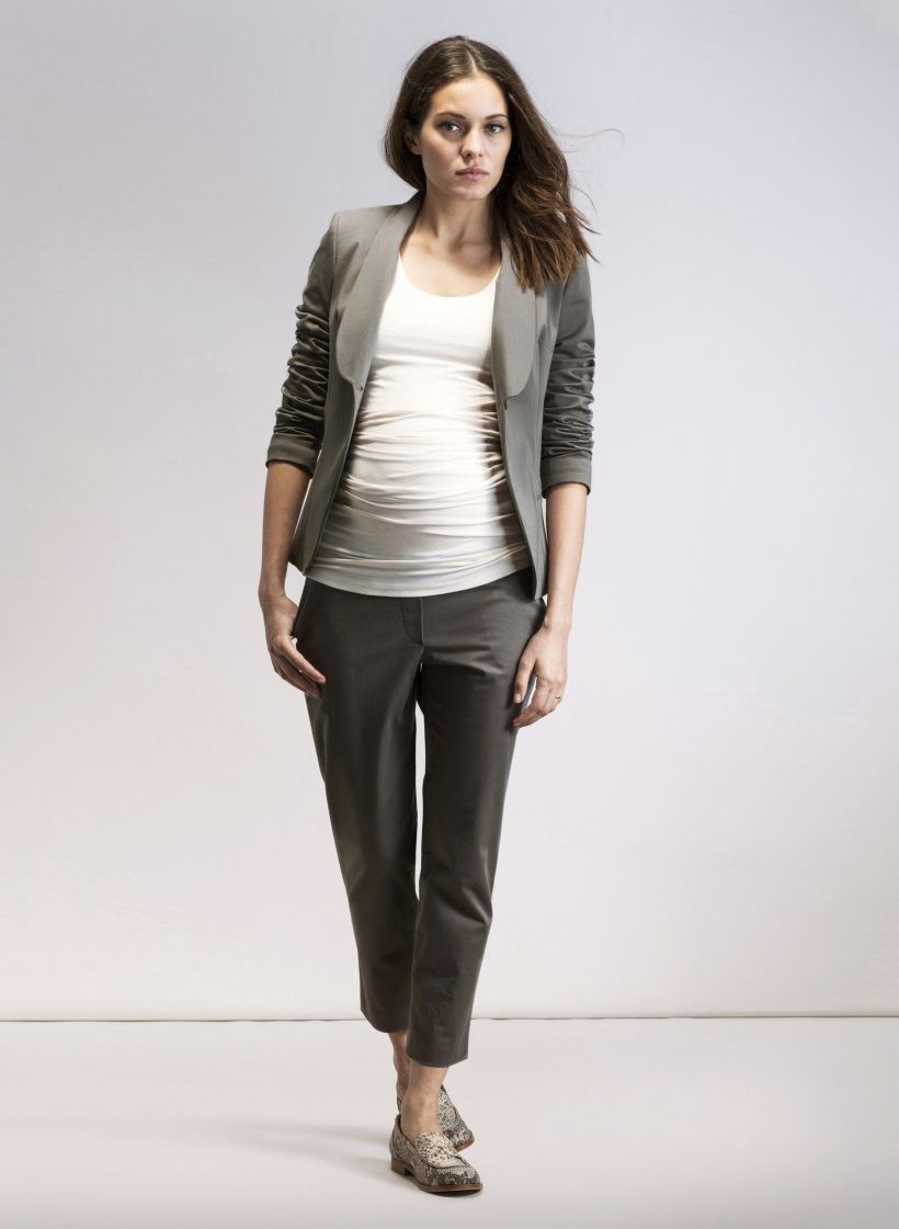 Maternity office look maternity fashion fall pinterest amalfi tailored maternity trousers in grey explore the world of isabella oliver for effortless chic and ultra comfortable maternity wear ombrellifo Image collections