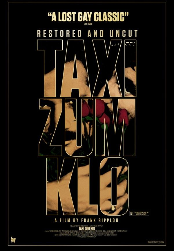 TAXI ZUM KLO directed by Frank Ripploh #Outfest2012