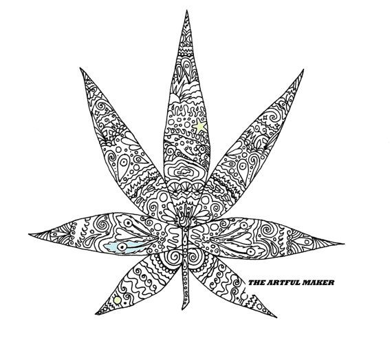 Sweet Leaf Adult Coloring Page By The Artful Maker Leaf Coloring Page Coloring Pages Adult Coloring