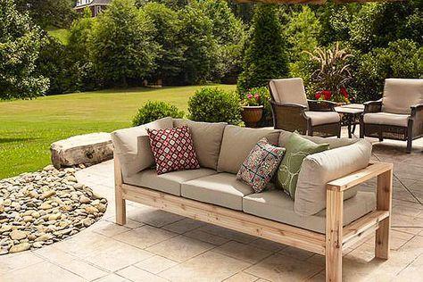 DIY - Summer Outdoor Sofa Gärten, Holz basteln und Balkon