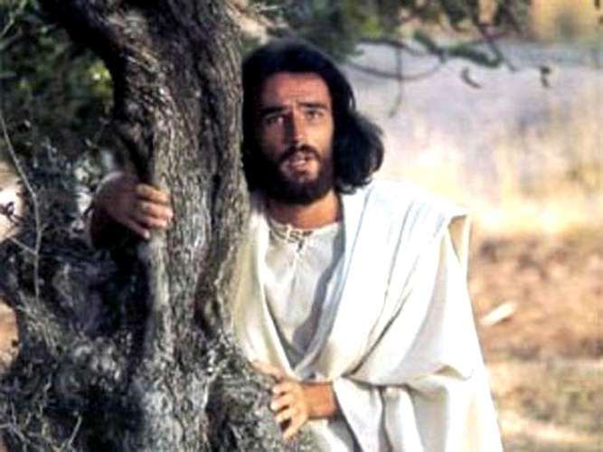 Las tribulaciones del Salvador tuvieron el rostro de Pier Maria Rossi en 'El Mesías' (Il Messia), la película que Roberto Rossellini filmó en 1975. Foto: France 3  http://entretenimiento.terra.com/famosos/jesus-christ-super-star-actores-que-fueron-jesus-en-el-cine,2eee9e874a8ad310VgnCLD2000009ccceb0aRCRD.html