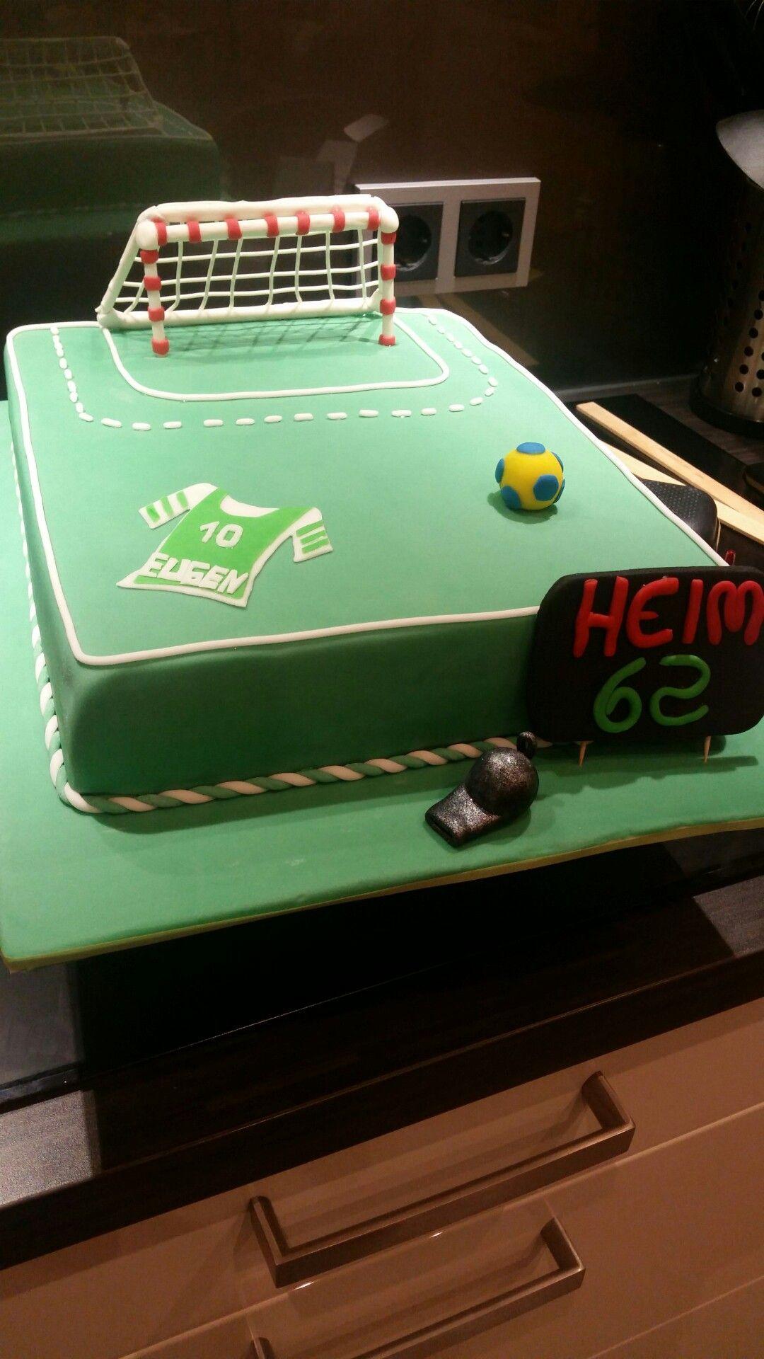 Handball Torte Yvonne Pinterest Torte Und Handball