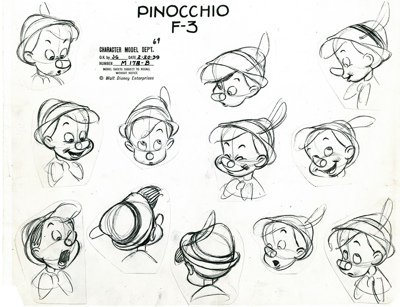 Disney Character Design Study : Pinocchio disney pinterest animation and