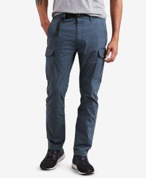c3cd08dc Levi's Men's 502 Men's Slim-Fit Tapered Cargo Pants - Blue 36x30