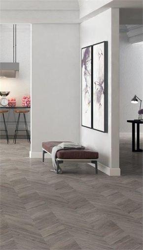 Grey Herringbone Laminate Flooring Condo Pinterest Flooring