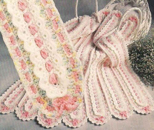 Annies Attic Mile A Minute Baby Afghans Crochet Patterns 6 Designs