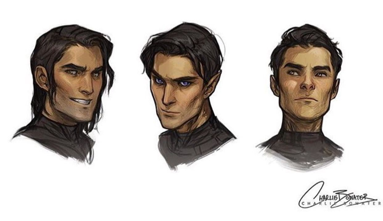 Cassian Rhys And Azriel A Court Of Mist And Fury Sarah J Maas