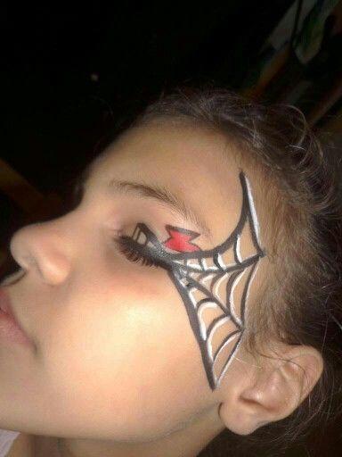 Black Widow Eye Black Widow Painting Black