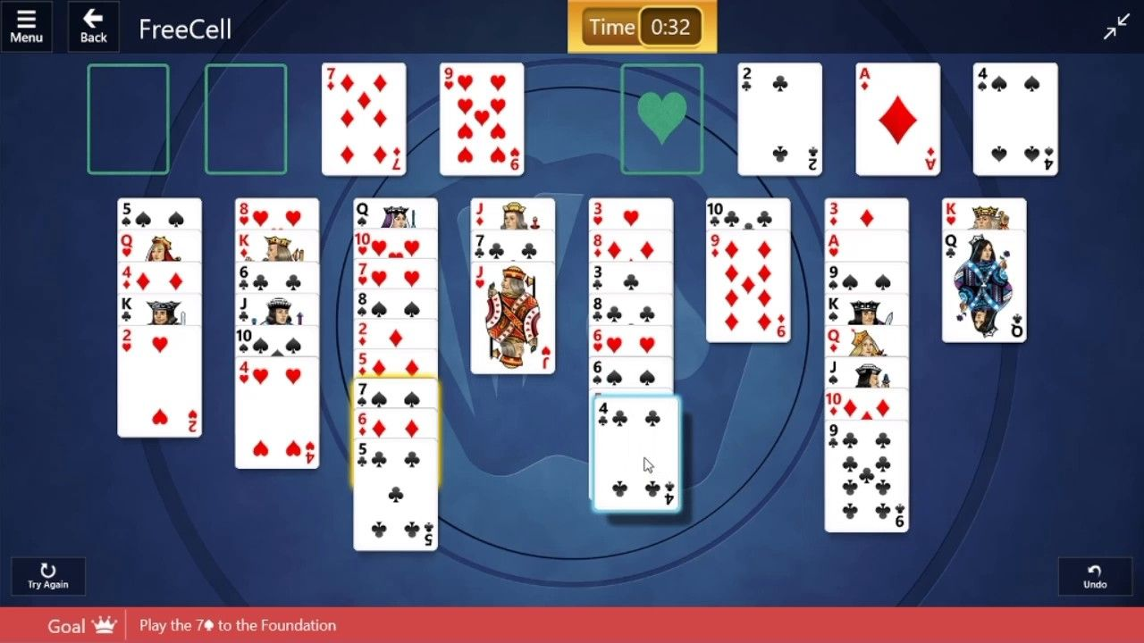 Microsoft solitaire collection freecell medium 28th
