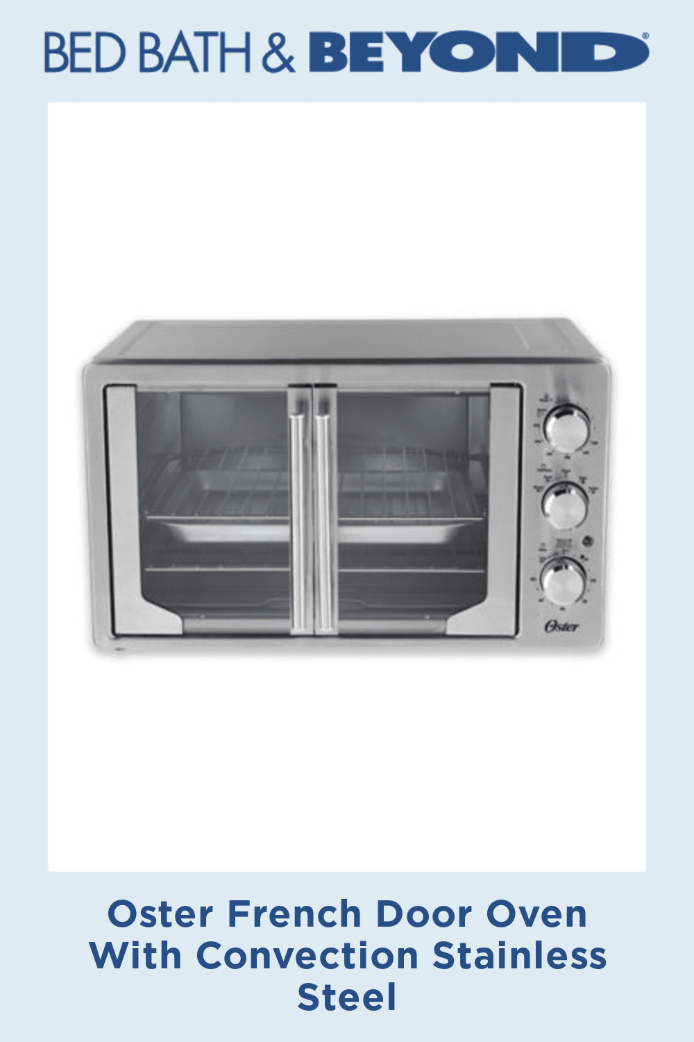 Oster French Door Oven With Convection French Door Oven