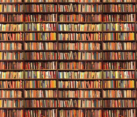 Books Shelf book shelf fabriclauredesigns on spoonflower - custom fabric