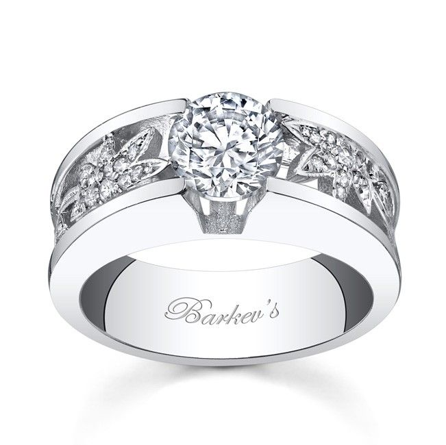 low profile wedding ring Double click on above image to view
