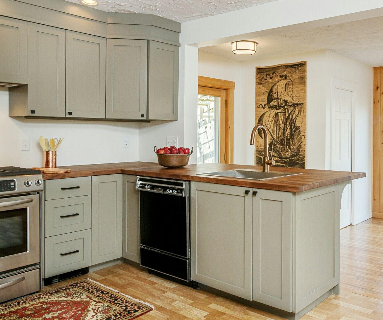 Ikea Kitchen Upper Cabinets: Semihandmade DIY Shaker Ikea Kitchen