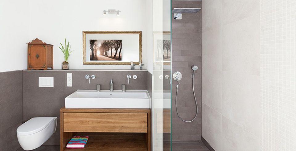 Fliesen-Kemmler Referenzkunde DIY und Selbermachen Pinterest - badezimmer beige grau wei